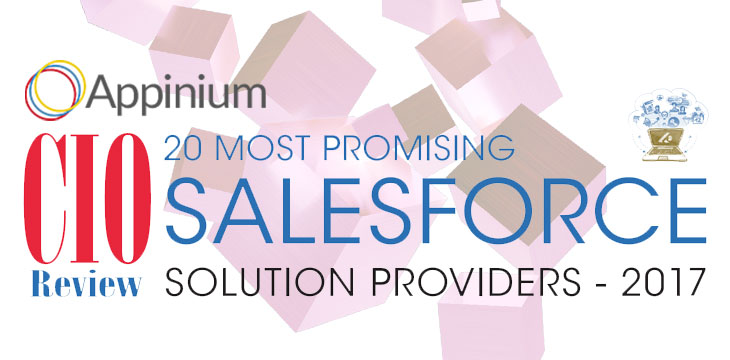 Appinium Makes CIO Review's Top 20 Promising Salesforce Solution Providers in 2017